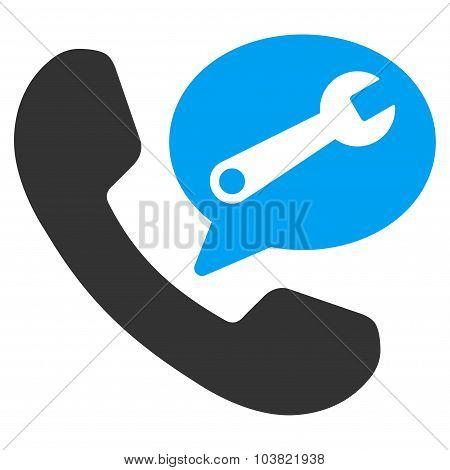 Phone Service Message Icon