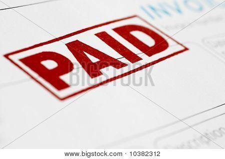 Pago de factura