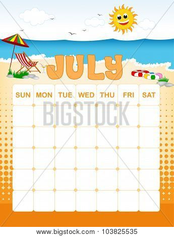 July Calender