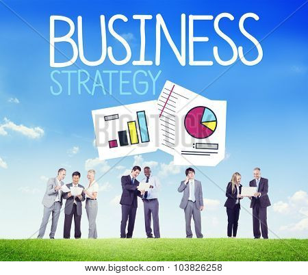Business Strategy Development Planning Team Concept