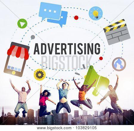 Advertising Commercial Marketing Branding Concept