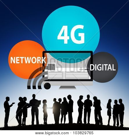 Technology Communication Connection Networking internet Concept