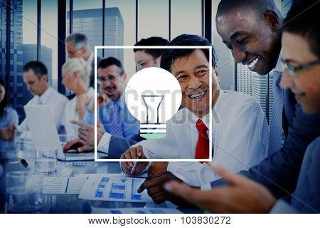 Light Bulb Ideas Inspiration VIsion Innovation Power Concept