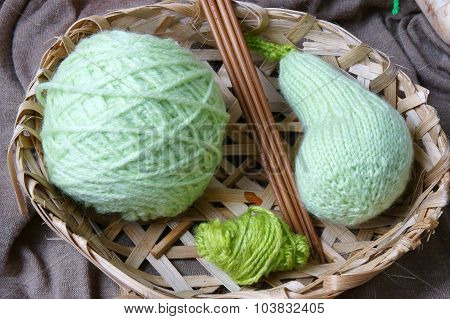 Handmade, Knitting, Vegetables