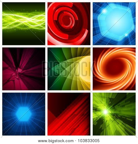Abstract vector backgrounds collection modern design can be use for Business Brochures, Flyers, Website Banners, Corporate Report, Presentation, Advertising and more other.