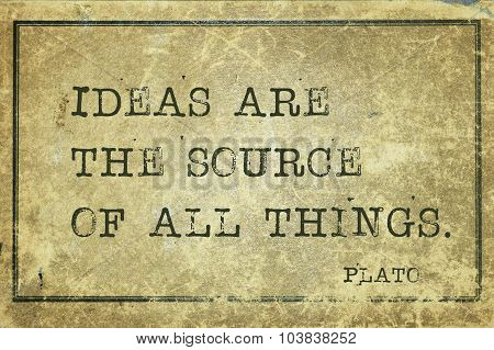 Ideas Plato