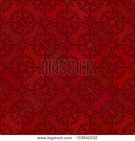 Abstract vector background, Seamless pattern Red color