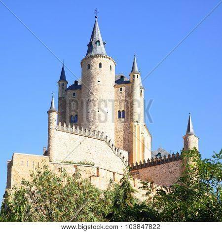Castle of Segovia (Alcazar), Spain