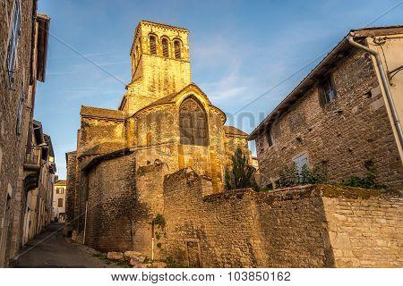 Madeleine Church In Tournus