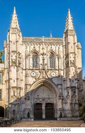 Basilica Saint Pierre In Avignon