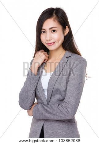 Asian Young businesswoman
