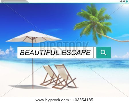 Beautiful Escape Enjoyment Carefree Freedom Concept