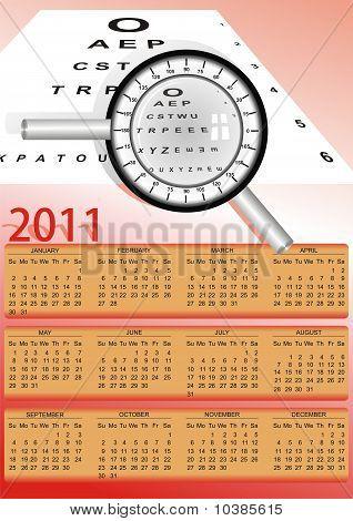 Optometry 2011 Calendar.eps