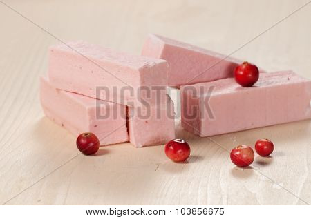 Pastille With Cranberry