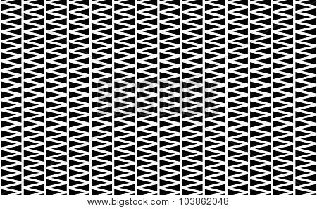 Seamless Pattern Made Of Triangles. Triangle Background. Repeatable.