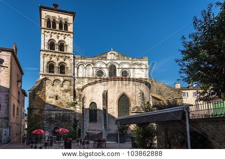 Church Of Saint Andre Le Bas In Vienne - France