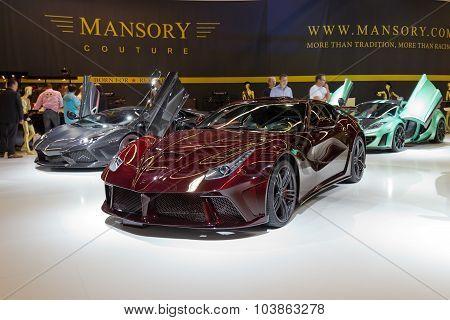 Mansory F12 La Revoluzione
