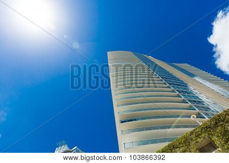 Luxury buildings in Miami, Florida, USA