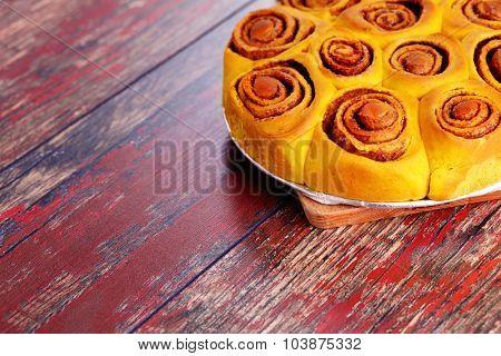homemade pumpkin cinnamon rolls - sweet food