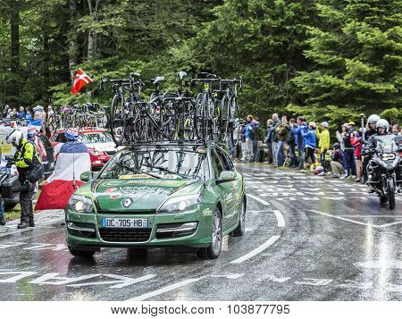The Car Of Europcar Team - Tour De France 2014
