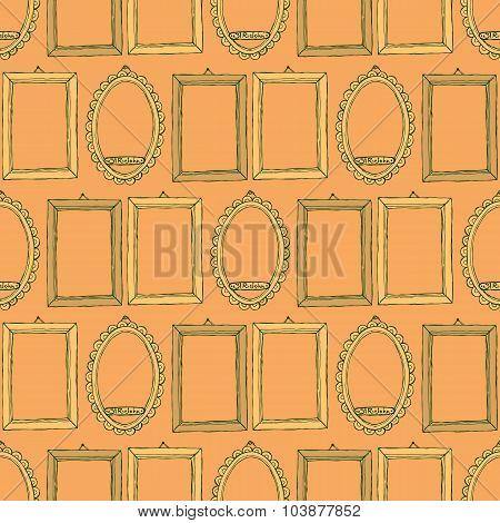 Sketch Frames In Vintage Style