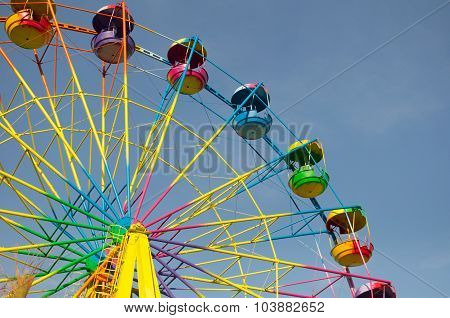 Colored Ferris Wheel