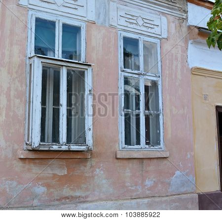 Old Protruding Window