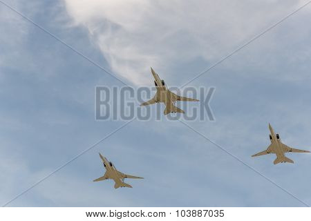 Group Of Airplanes Tu-22