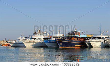 Ayia Napa, bay fishing