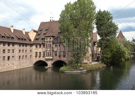 Hospital of the Holy Spirit. Nuremberg. Germany.