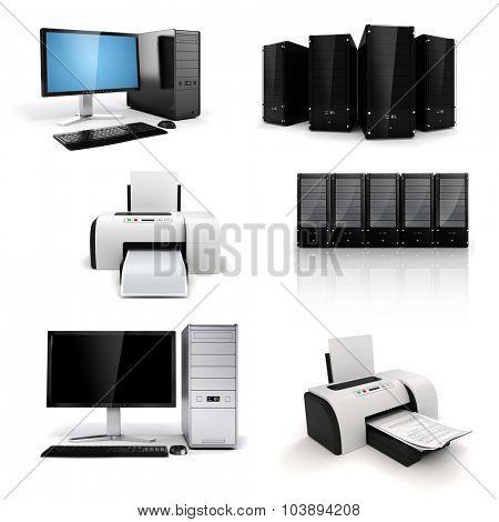 3d workplace technology equipment