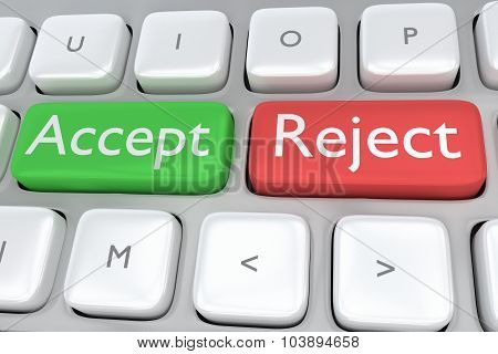 Accept/reject Concept