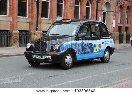 England Taxi Cab