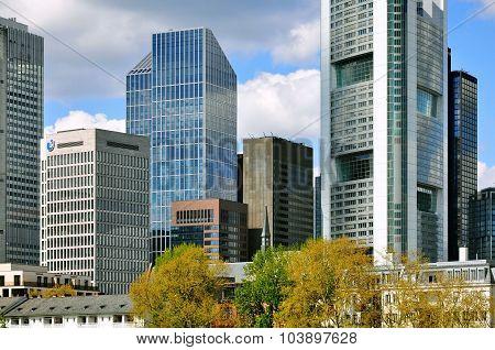 Frankfurt Business Center, Germany.