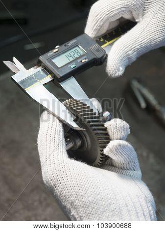 Inspection Automotive Steel Gear