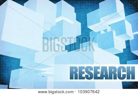 Research on Futuristic Abstract for Presentation Slide