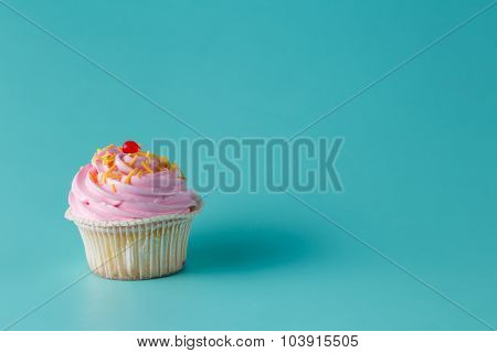 One Colorful Cupcake