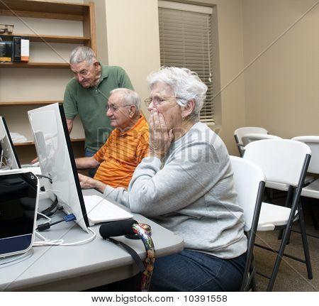 Computerklasse für Senioren