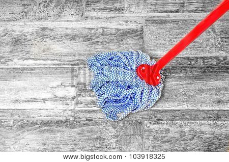 Wipe Floor Mop -  Chores Housekeeping