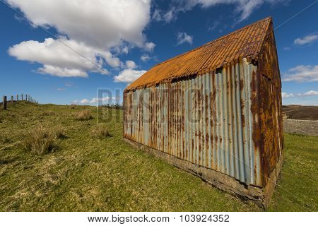 Barn On The Isle Of Skye