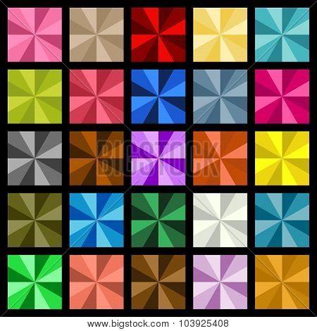 Multiple Colored Square Diamond