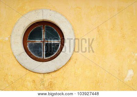 Round Yellow Window