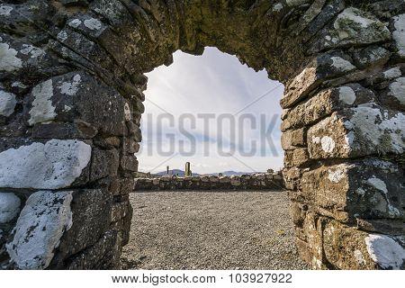 Graveyard And Gate On Trumpan