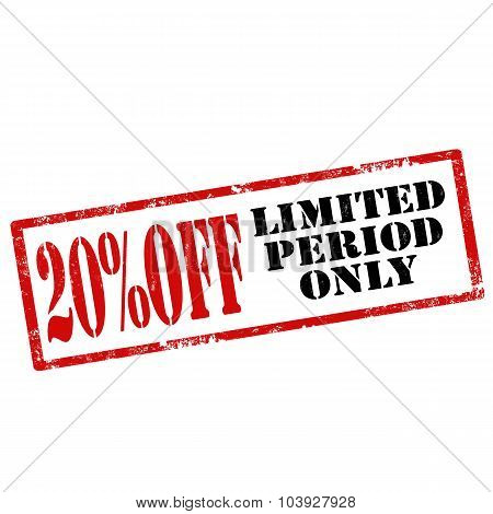 Limited Period Only