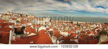 Alfama Overview, Lisbon