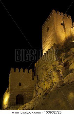 Alcazaba In Almeria City, Andalucia, Spain