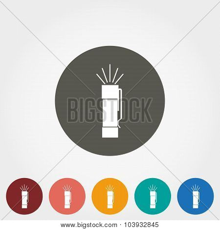 Flashlight icon.