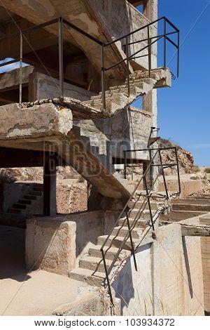 Rodalquilar Abandoned Gold Mine, Cabo De Gata-nijar Natural Park, Almeria Province, Andalucia, Spain
