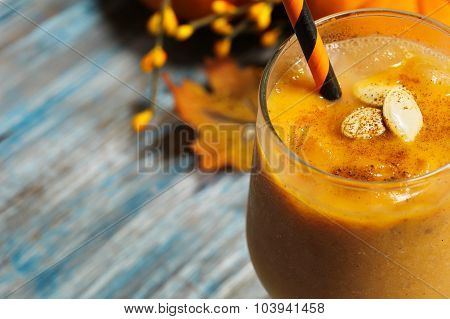 Pumpkin Smoothie milkshake