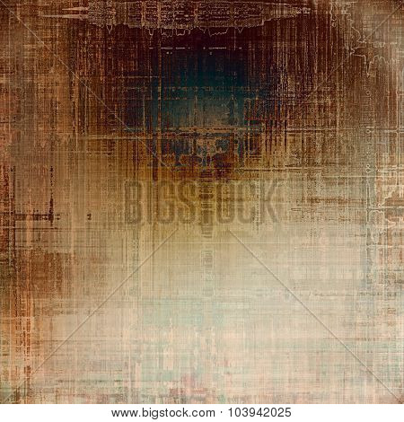 Vintage texture with space for text or image, grunge background. With different color patterns: yellow (beige); brown; gray; green